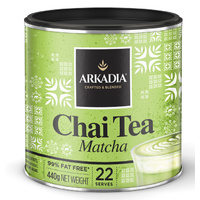 Matcha Green Tea Chai - 440g