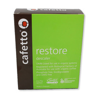 Cafetto Restore Descaling Powder - 4 pack